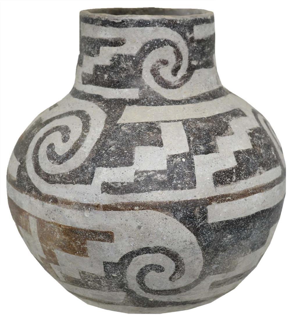 "6 1/2"" H. Anasazi Jar.  NM.   Circa 1200 AD.  Ex-Art - 2"