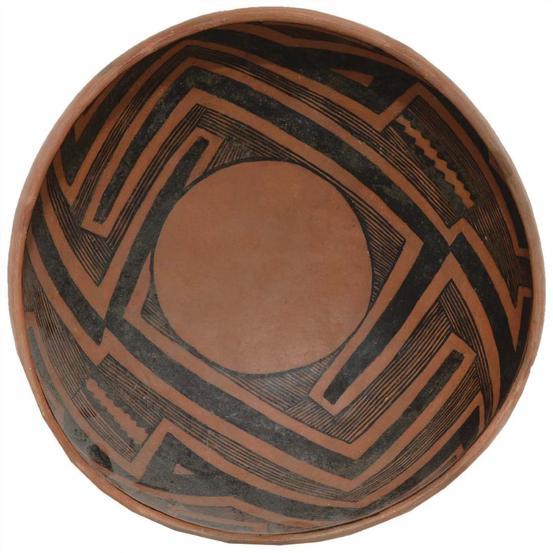 "10"" Anasazi Wingate Bowl.  NM.  Pictured in Ornamental"