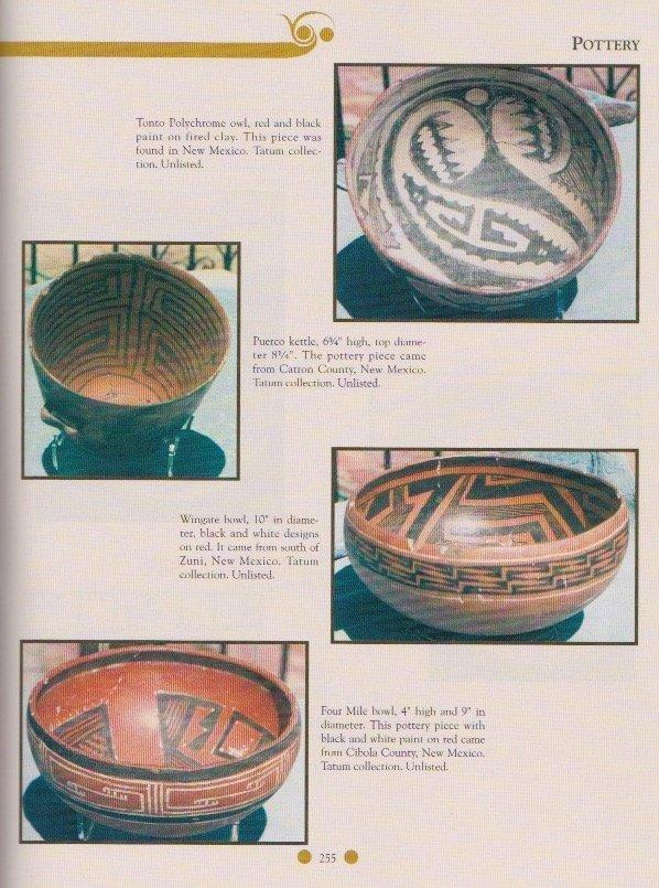 "10"" Anasazi Wingate Bowl.  NM.  Pictured in Ornamental - 3"