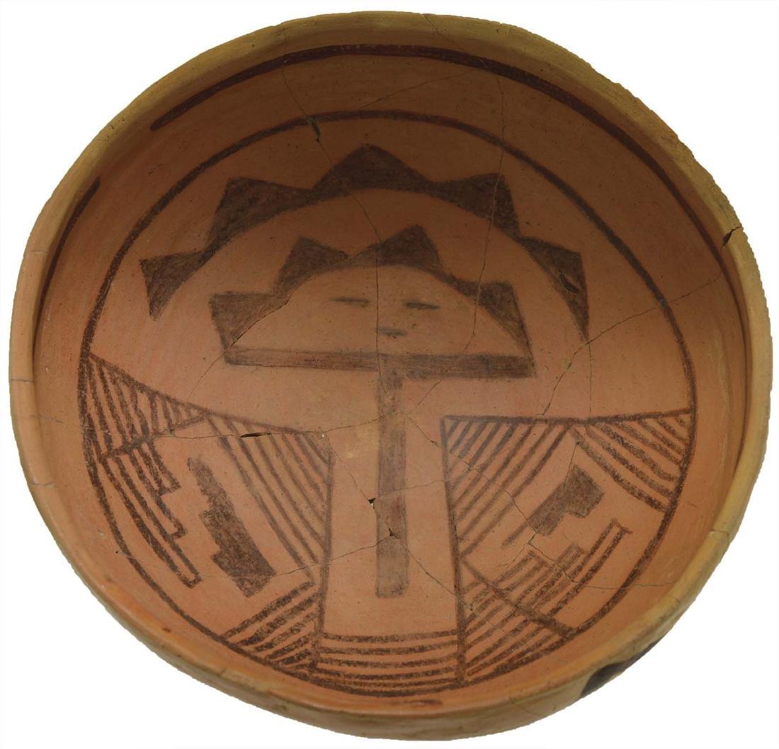 """8 1/8"""" Anasazi Jedito Bowl.  Pictured in Ornamental"""