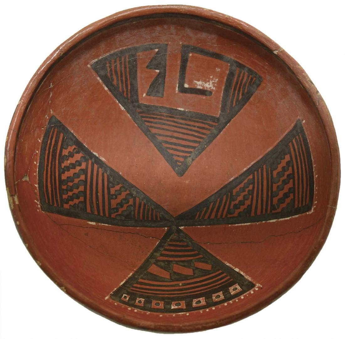 "8 3/4"" Anasazi Four Mile Bowl.  Pictured in Ornamental"