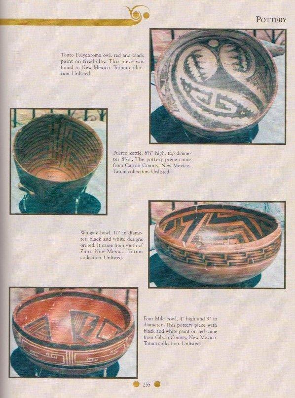 "8 3/4"" Anasazi Four Mile Bowl.  Pictured in Ornamental - 3"