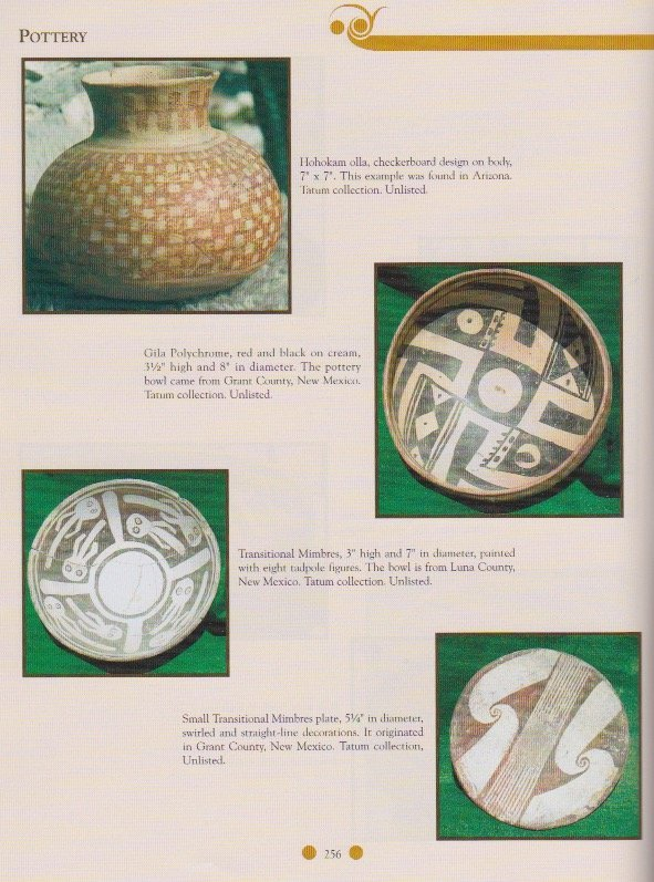 "5 1/4"" Mimbres Plate.   Pictured in Ornamental Indian - 3"