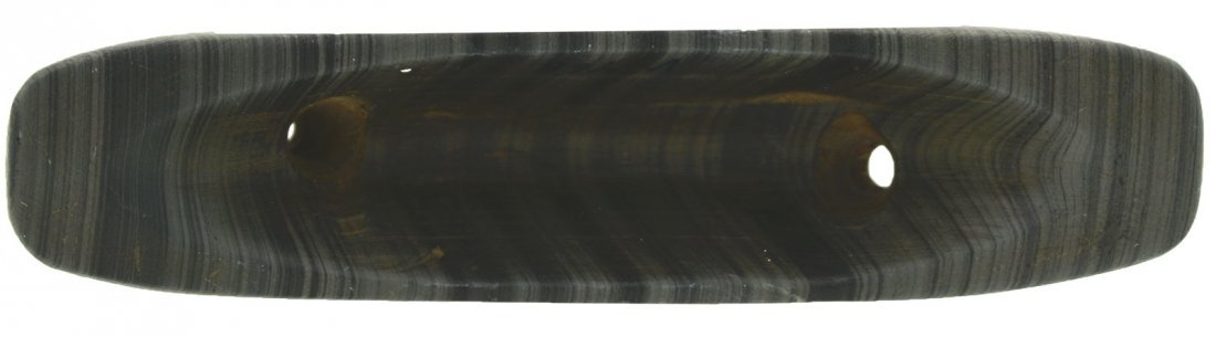"4"" Slate Boatstone.  Randolph Co, IN.  Ex-Bill Cain - 3"
