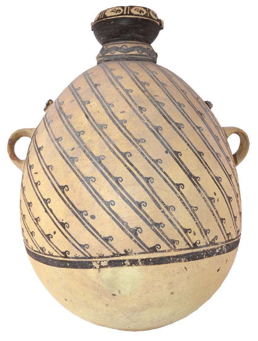 "18 3/4"" H. Amphora Jar.  Peru.  Ex-Rick Fitzgerald."
