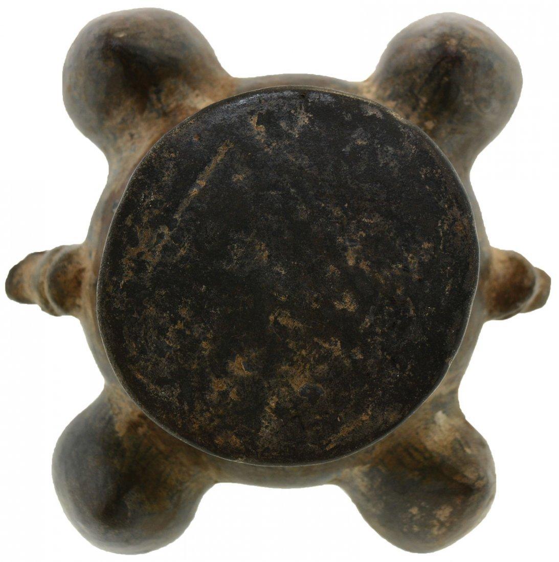 """8 1/4"""" H. Stirrup Vessel.  Chimu.  Peru.  Crca 1200 AD. - 4"""