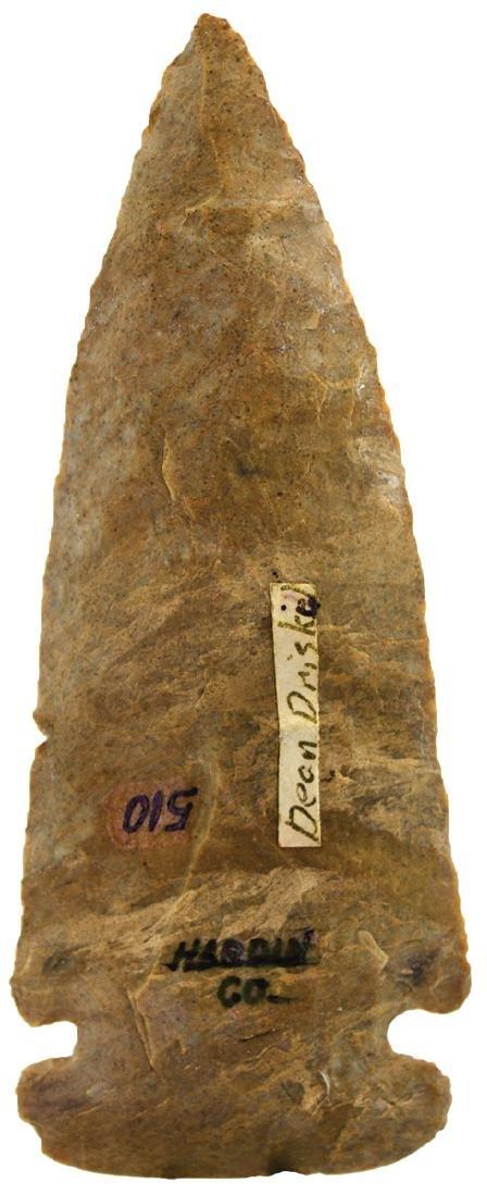 "4"" Flatbase Dovetail.  Hardin Co, OH.   Ex-Tom Davis, - 2"