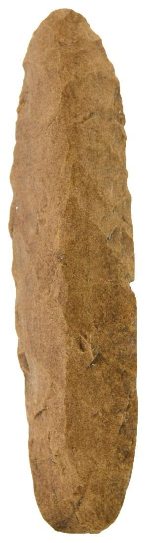 """4 3/16"""" Flint Knife.  Found by Buddy Scheidegger.  Crib"""