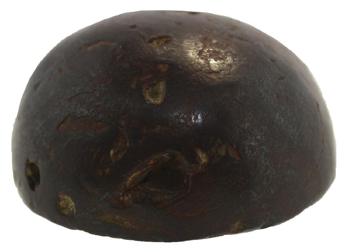 "1 5/8"" Hematite Cone.  Washington Co, OH.  Symmetrical, - 2"