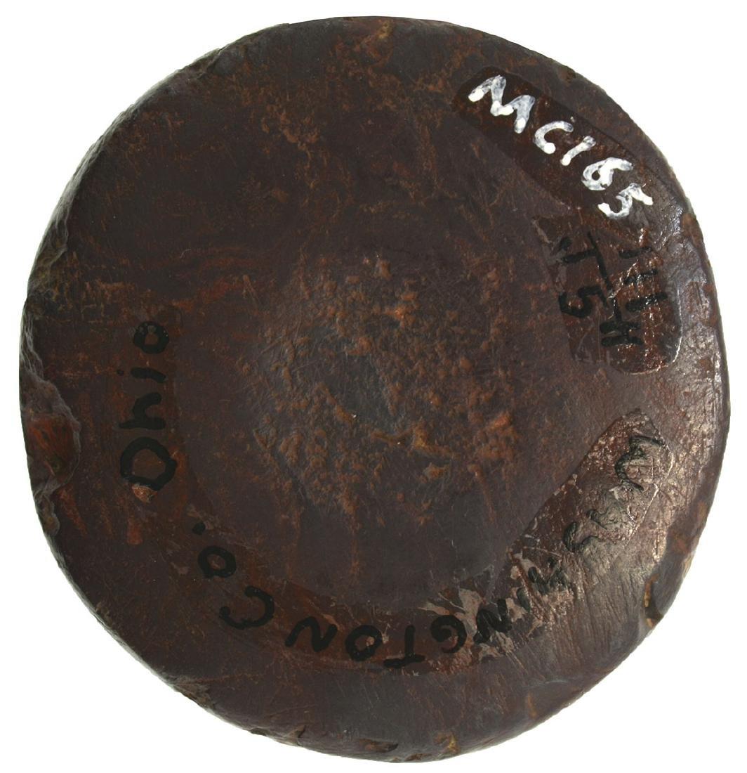 "1 5/8"" Hematite Cone.  Washington Co, OH.  Symmetrical, - 3"