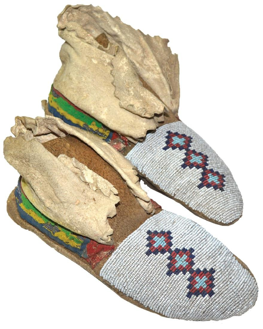 """10"""" Sioux Men's Moccasins.   Earl Townsend"""
