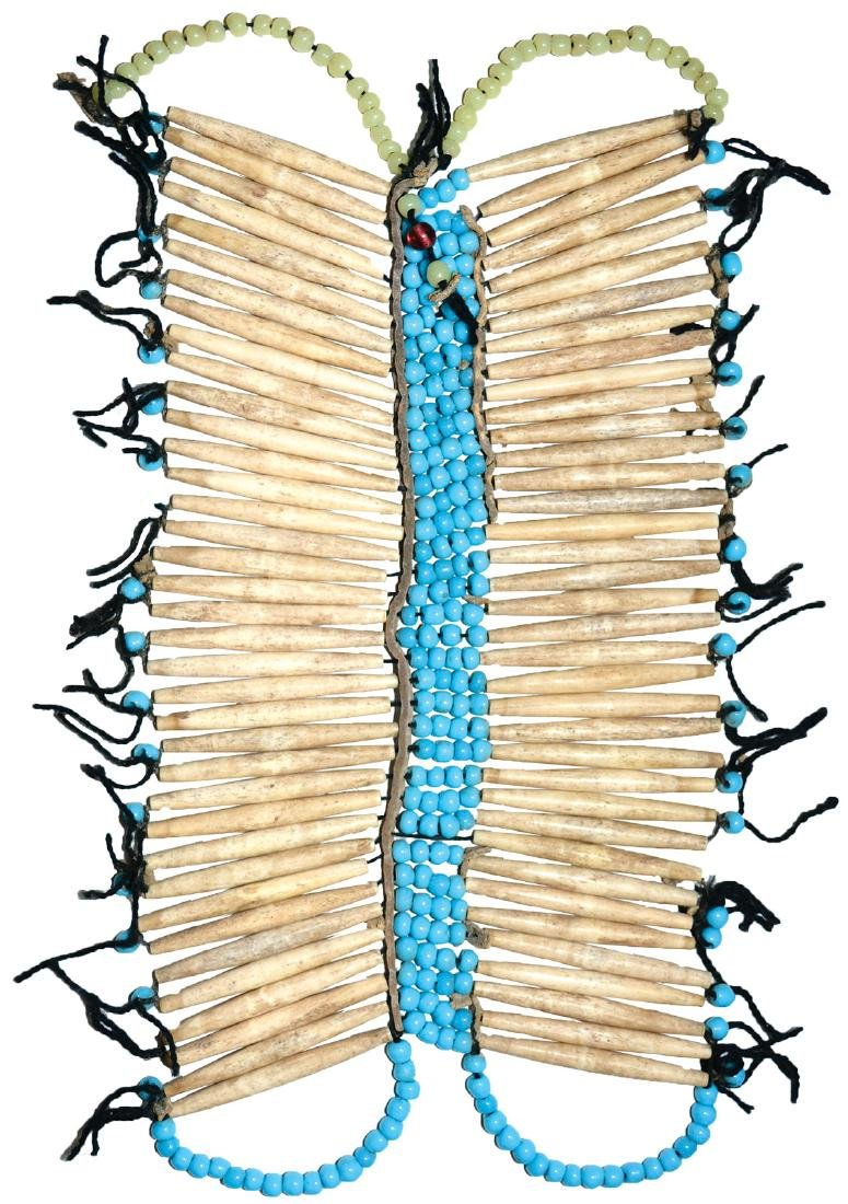 Beaded Sioux Vestment (Breast Plate).  Earl Townsend