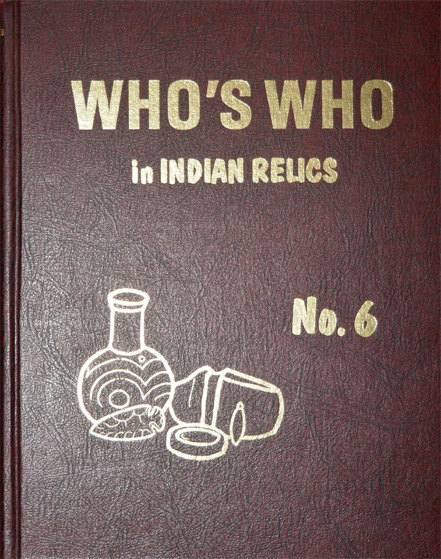 Book:  Who's Who #6.  Reprint.  Fine Condition
