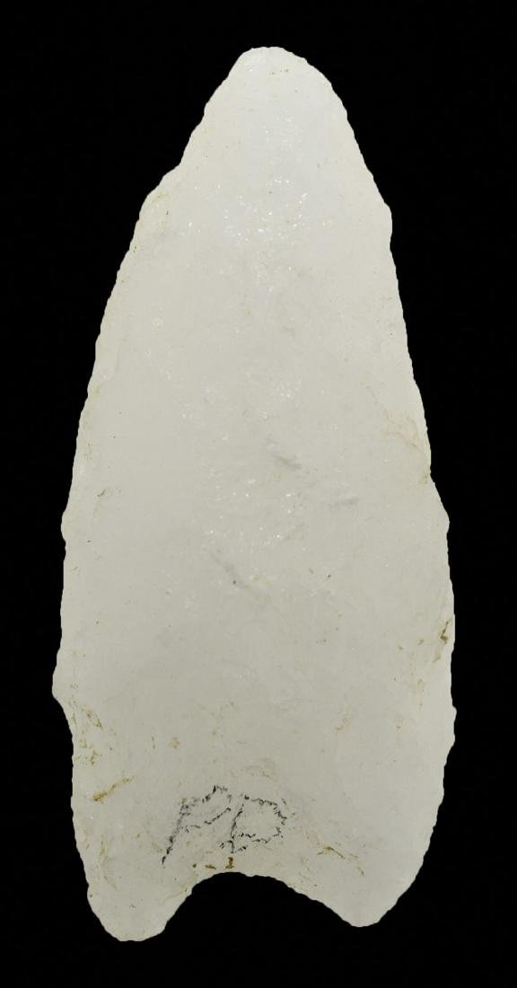 "Two Humboldt Variants.  1 7/8"" & 2 1/2"".  Quartzite."