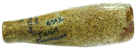 """3 7/8"""" Tube Pipe. OH. Colorful Pipestone. Ex-Earl"""