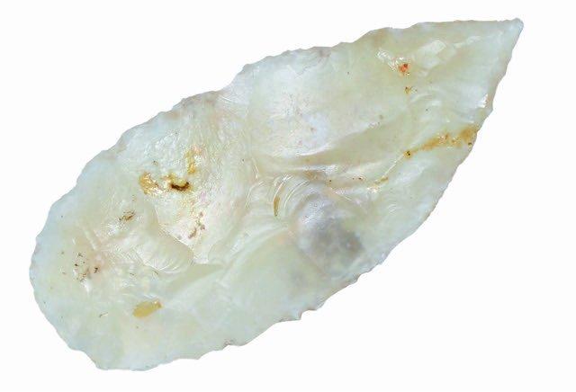 "2 7/8"" Archaic Leaf Blade.  Oregon.  Stermer COA. - 3"
