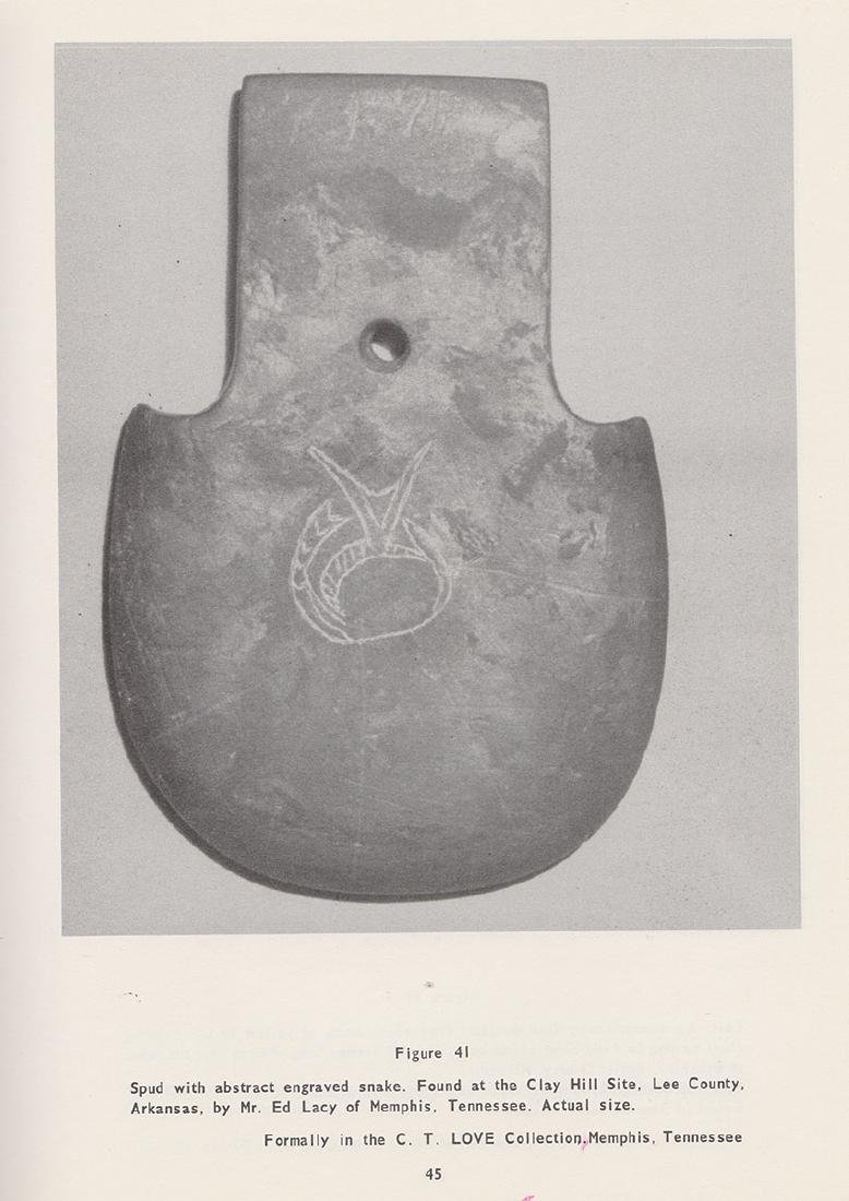 """5 1/2"""" Engraved Spatulate.  Pictured in 1961 CSAJ, - 4"""