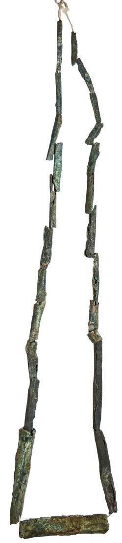 "24"" Copper Tube Necklace.  Ex-Earl Townsend.  MI.  Some"