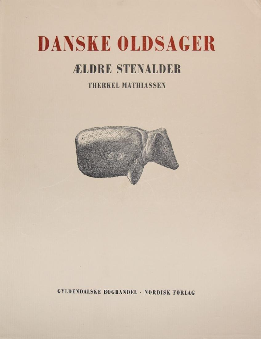 Books: Danish Antiquities (Danske Oldsager, (Volumes 1 - 3