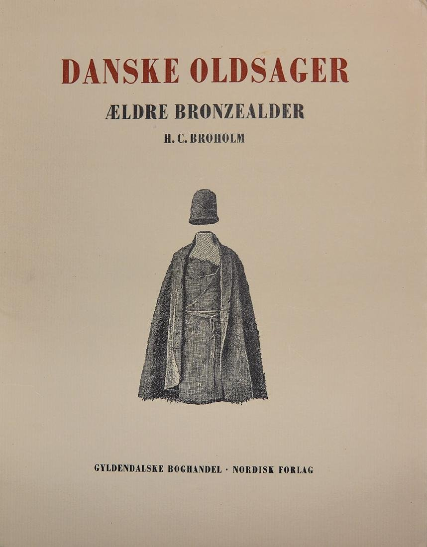 Books: Danish Antiquities (Danske Oldsager, (Volumes 1 - 4