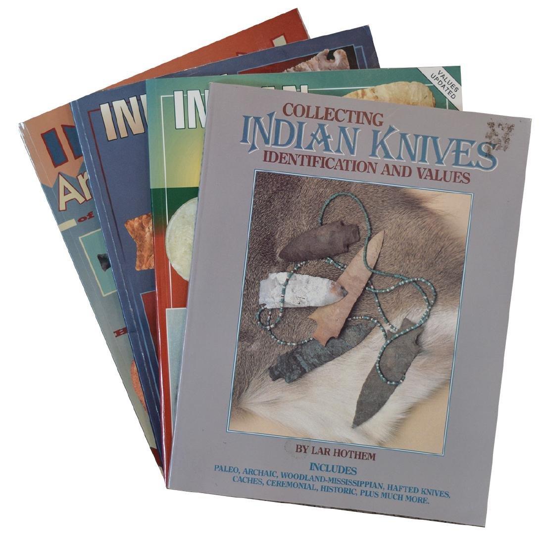 4 Hothem Books.  Volumes I, II and III of IAM