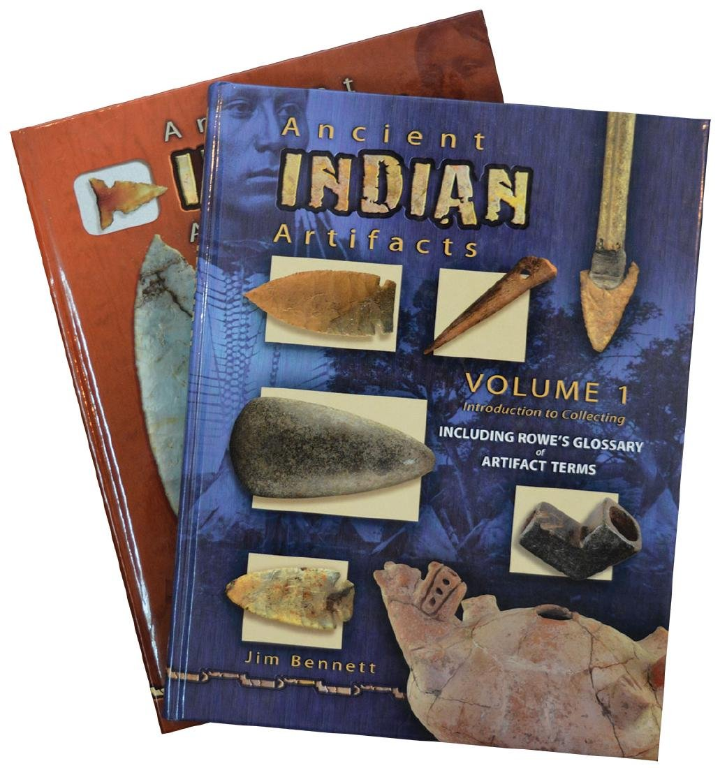 Books.  Volumes 1 and 2 of American Indian Artifacts