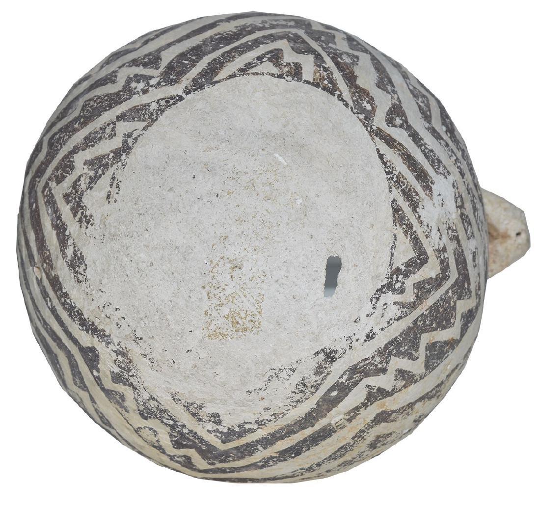 "8"" H. Tularosa  Anasazi Pitcher with animal handle. - 5"