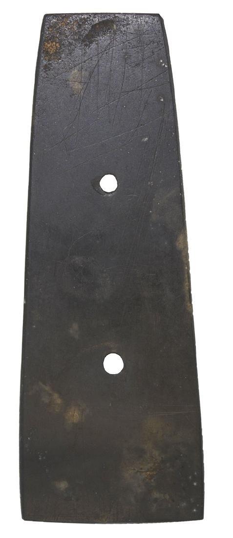 "4 3/4"" Slate Gorget.  Letcher Co, KY.   Ex- Wherle (802 - 2"