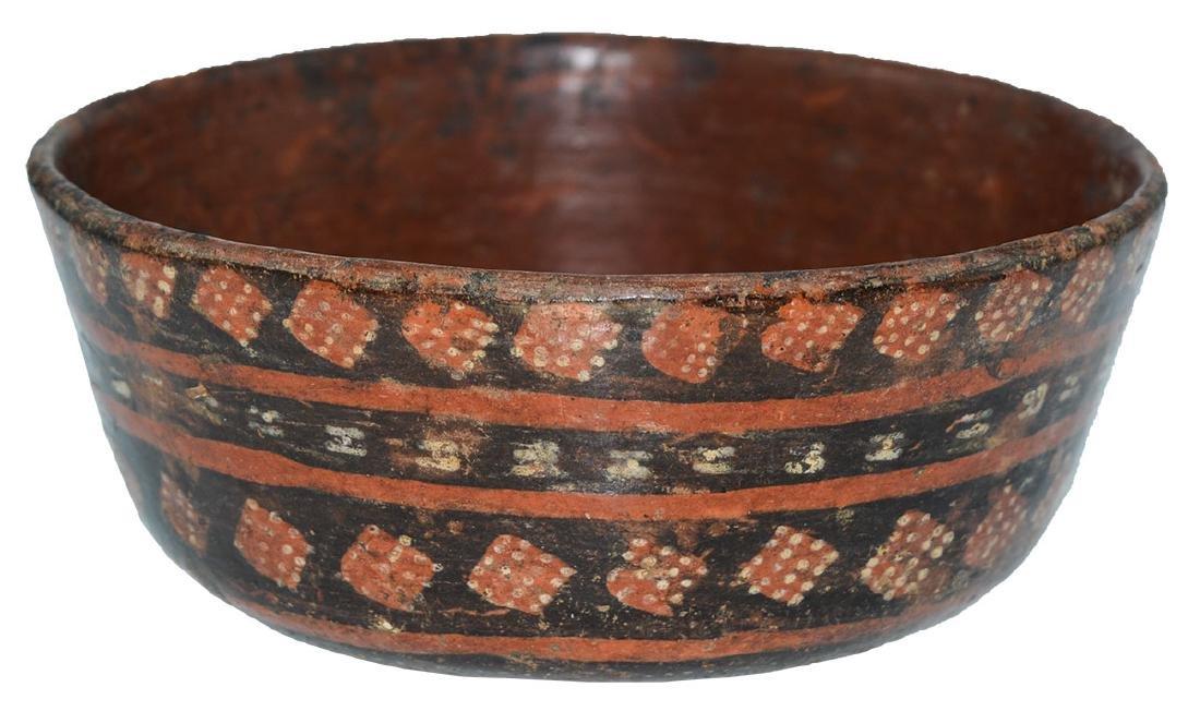 "6 3/4"" Tiwanaku Bowl.  Bolivia.  Pre-Columbian.   Very"