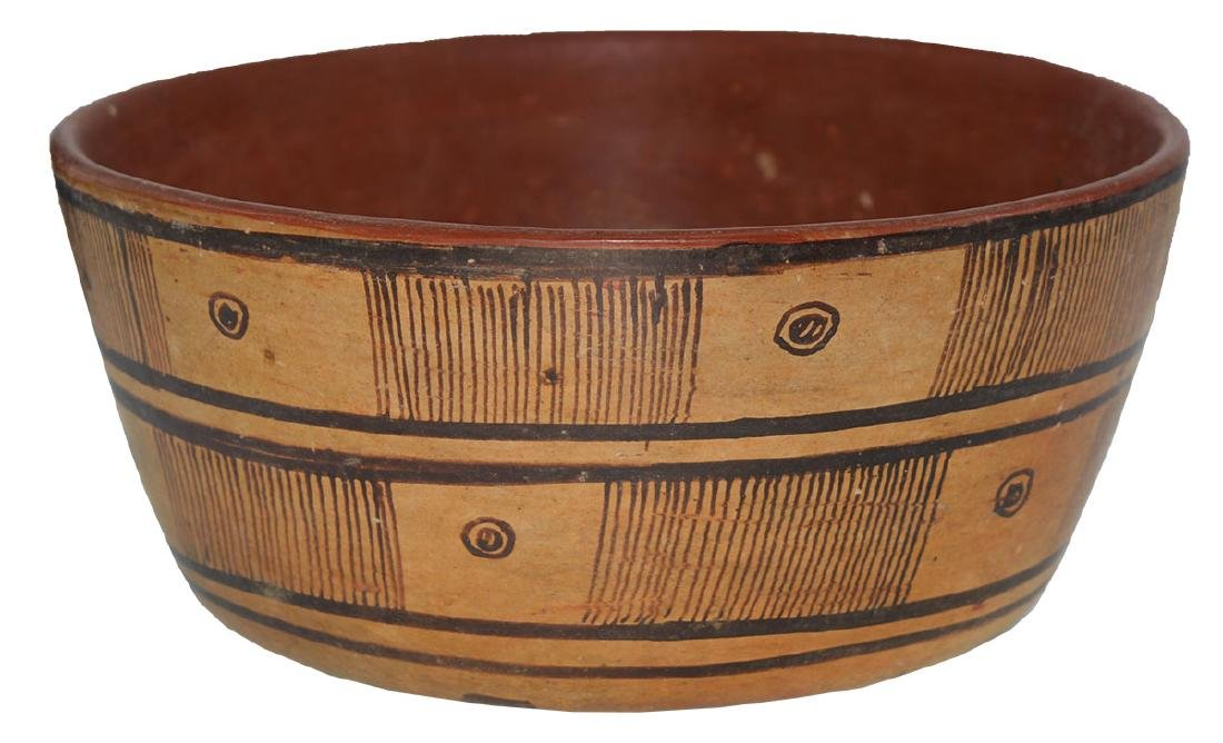 "8"" D. Nayarit Bowl.  MX.  Pre-Columbian.  Ex-Dr. Earl"