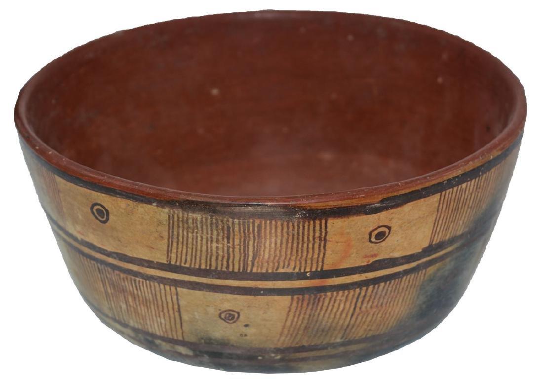 "8"" D. Nayarit Bowl.  MX.  Pre-Columbian.  Ex-Dr. Earl - 2"