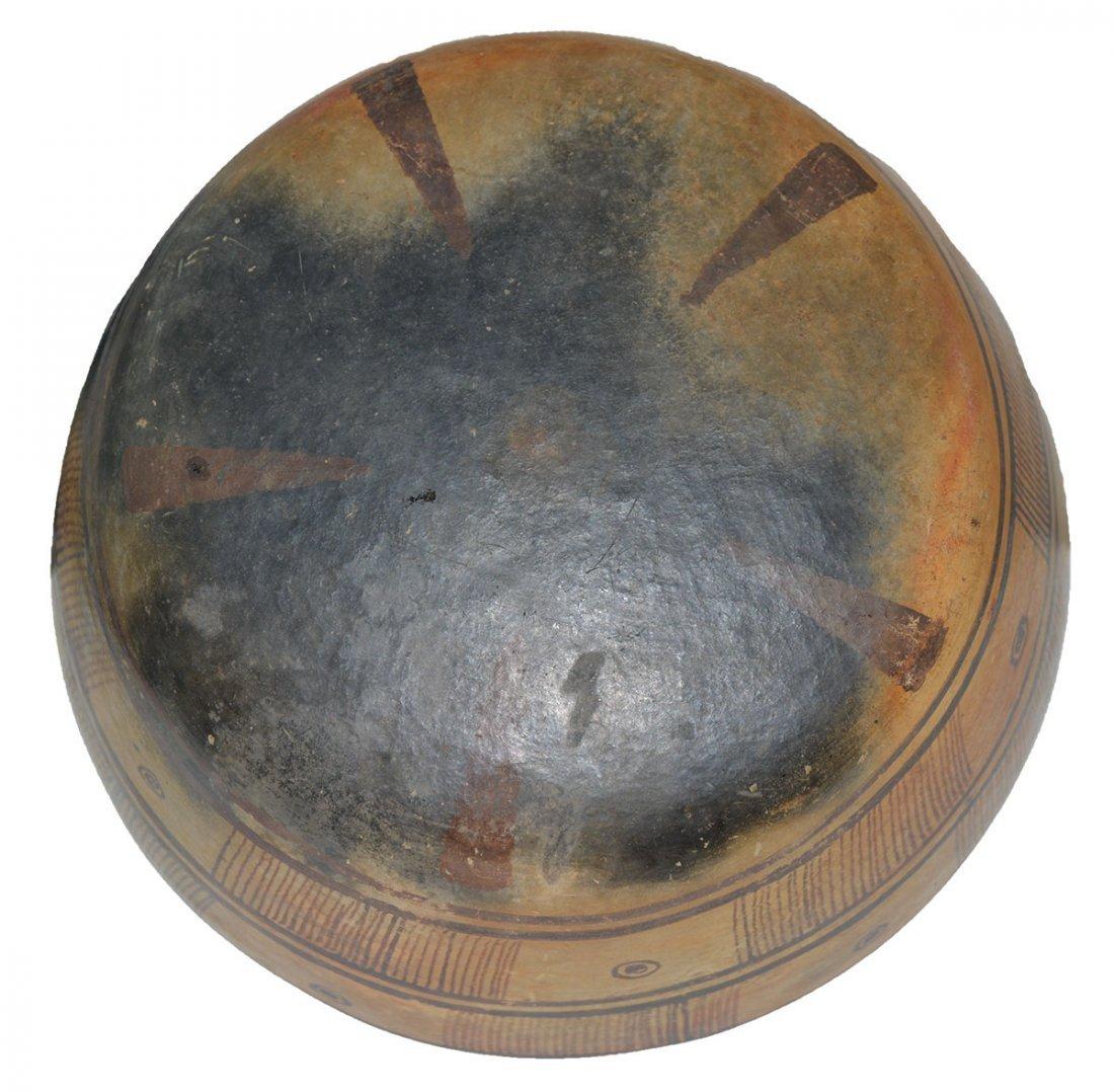 "8"" D. Nayarit Bowl.  MX.  Pre-Columbian.  Ex-Dr. Earl - 3"