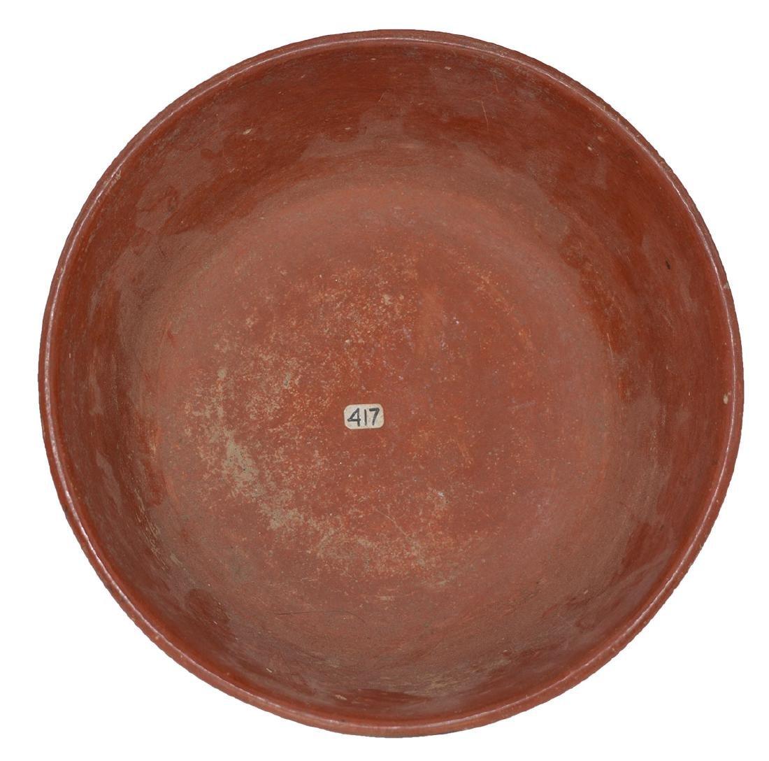 "8"" D. Nayarit Bowl.  MX.  Pre-Columbian.  Ex-Dr. Earl - 4"