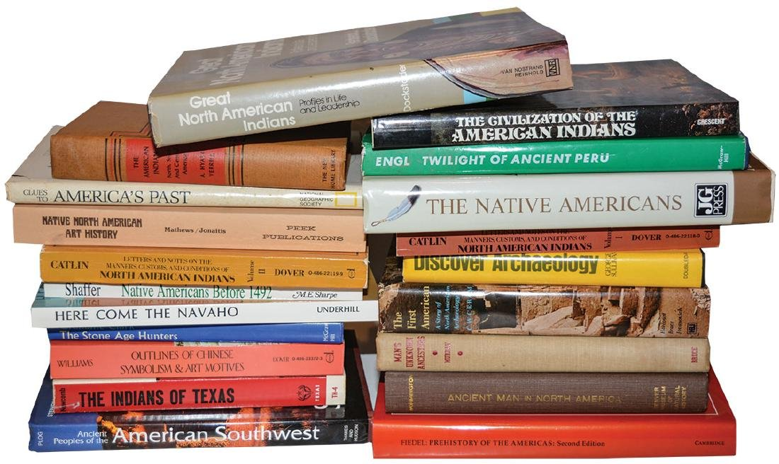 Ready made library!  20 Artifact and Native American