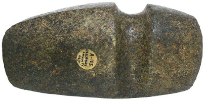 """6 1/8"""" 3/4 Groove Axe.  Pictured.  G10.  Calloway Co,"""