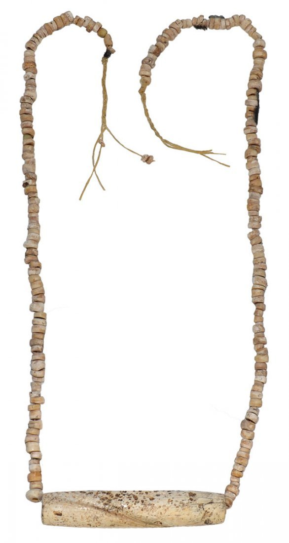 Shell Bead Necklace from Spiro.  Ex-Tom Davis