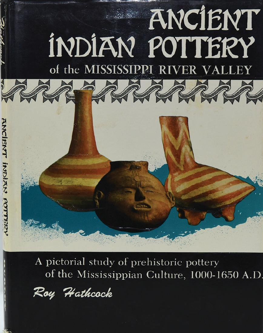 Book: Ancient Indian Pottery (Hathcock). 1st edition.