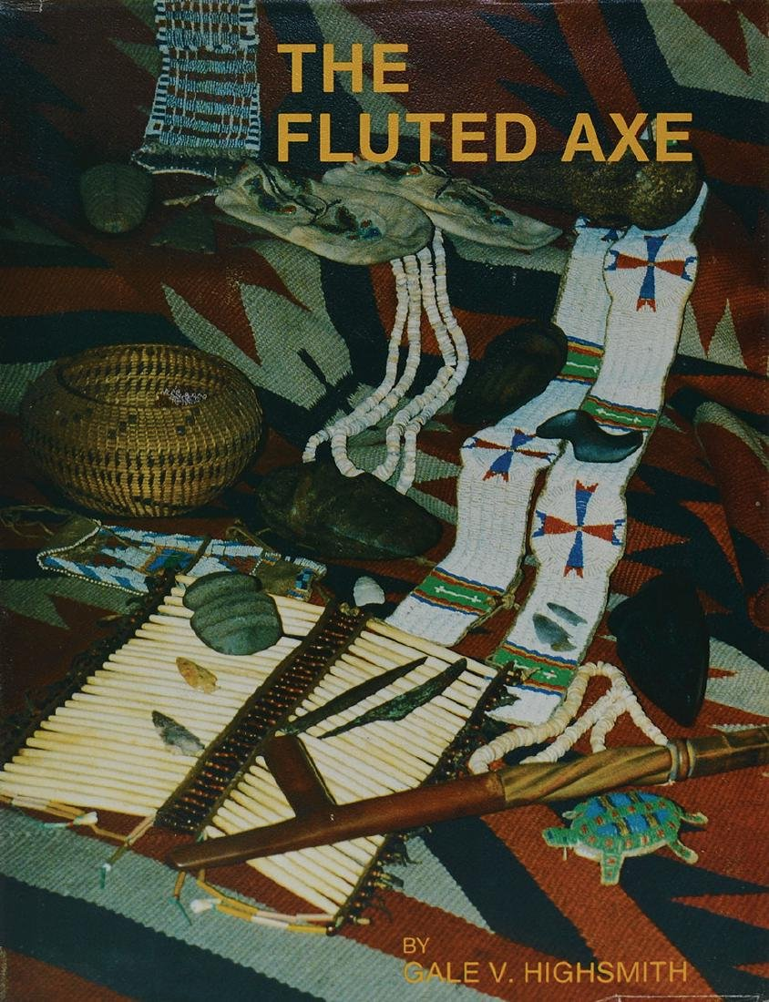 Book: The Fluted Axe (Highsmith).  1st edition, signed