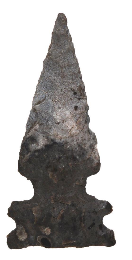 "1 1/4"" Four Notch Cahokia Point.  FB Paul Kline in"