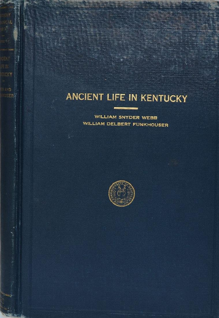 Book:  Ancient Life in Kentucky (Webb & Funkhouser,