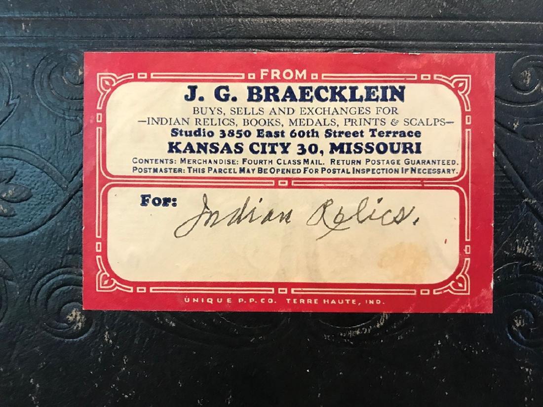 Special Book:  J.G. Braecklein's personal scrapbook - 2