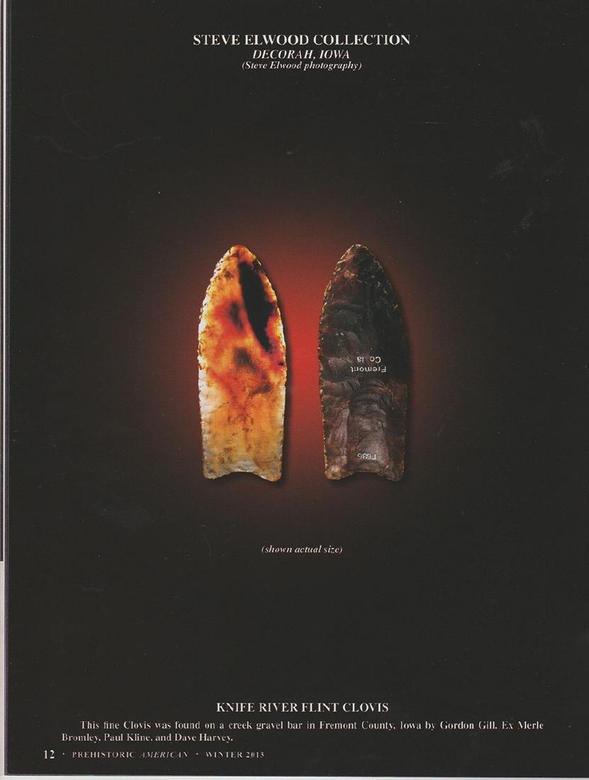 Translucent Knife River Flint Clovis.  One of the best. - 5