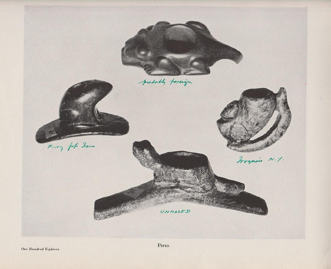 Hopewell Effigy Pipe (Frog).  Pictured in Payne Book. - 10