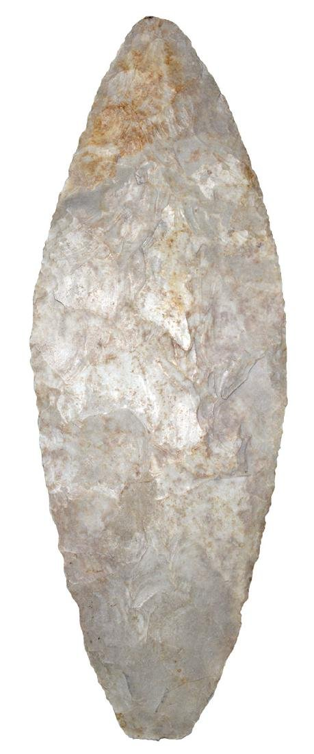 """7 1/2"""" Plano Blade.  Wexford Co, MI.  Large, thin and"""
