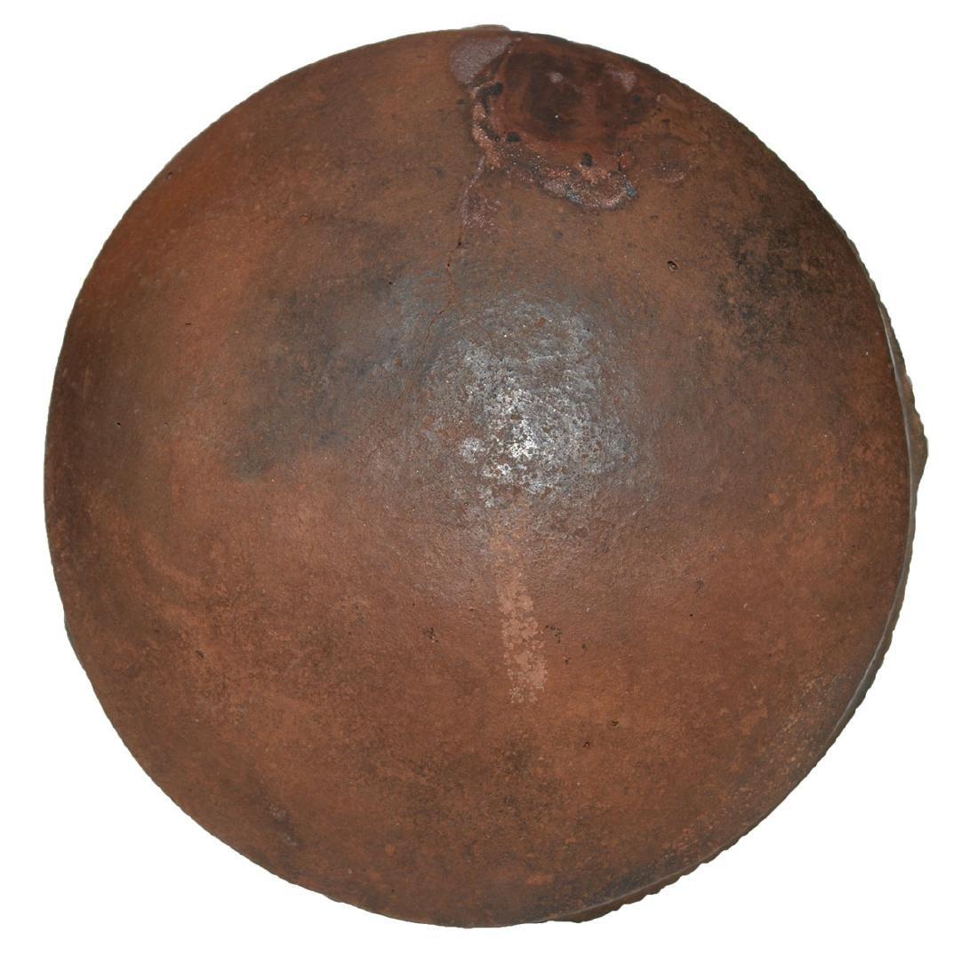 """5 1/4"""" D. Caddo Engraved Bowl. Ex-Dr. Jim Cherry.   AR. - 2"""
