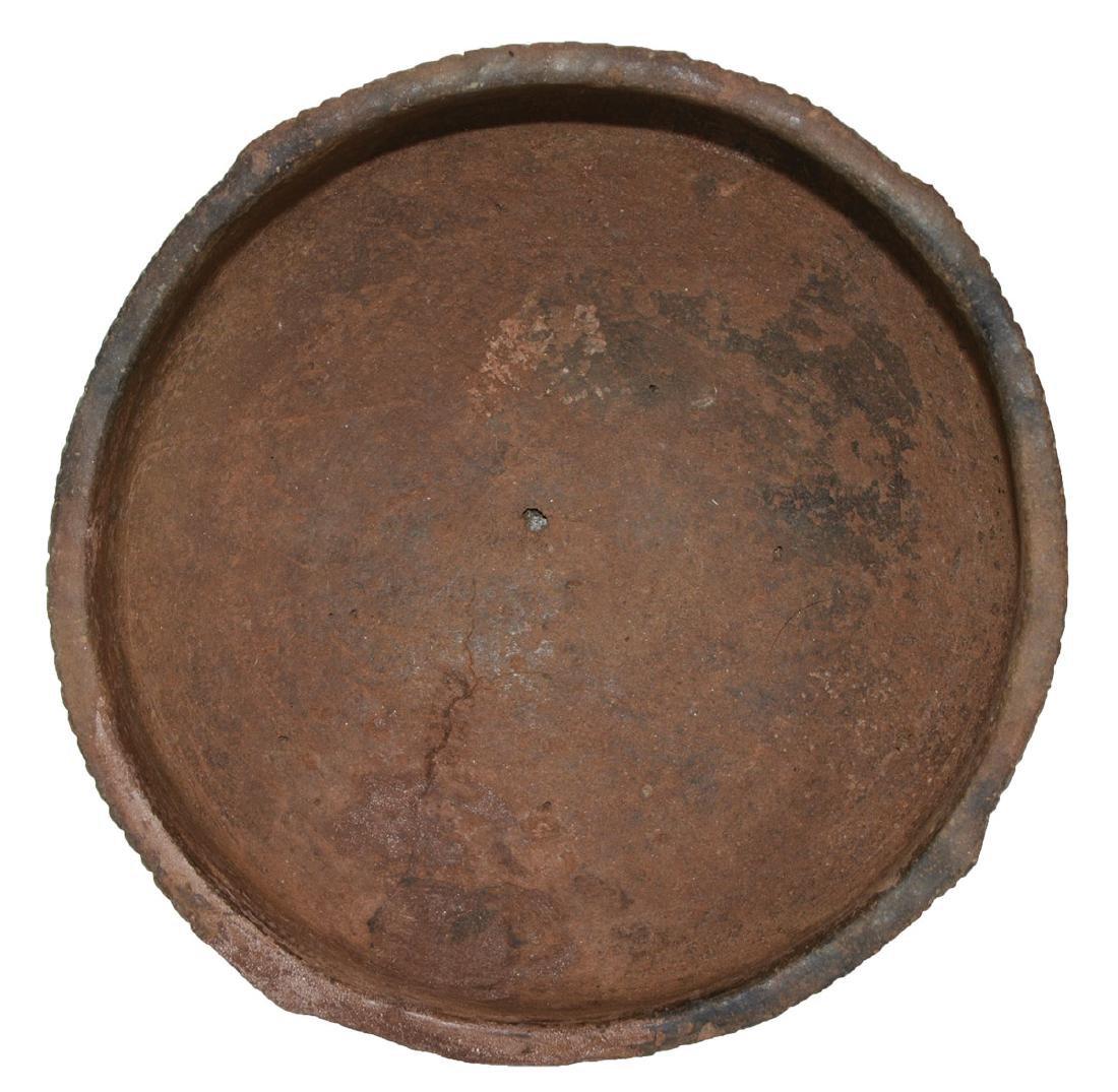 """5 1/4"""" D. Caddo Engraved Bowl. Ex-Dr. Jim Cherry.   AR. - 3"""