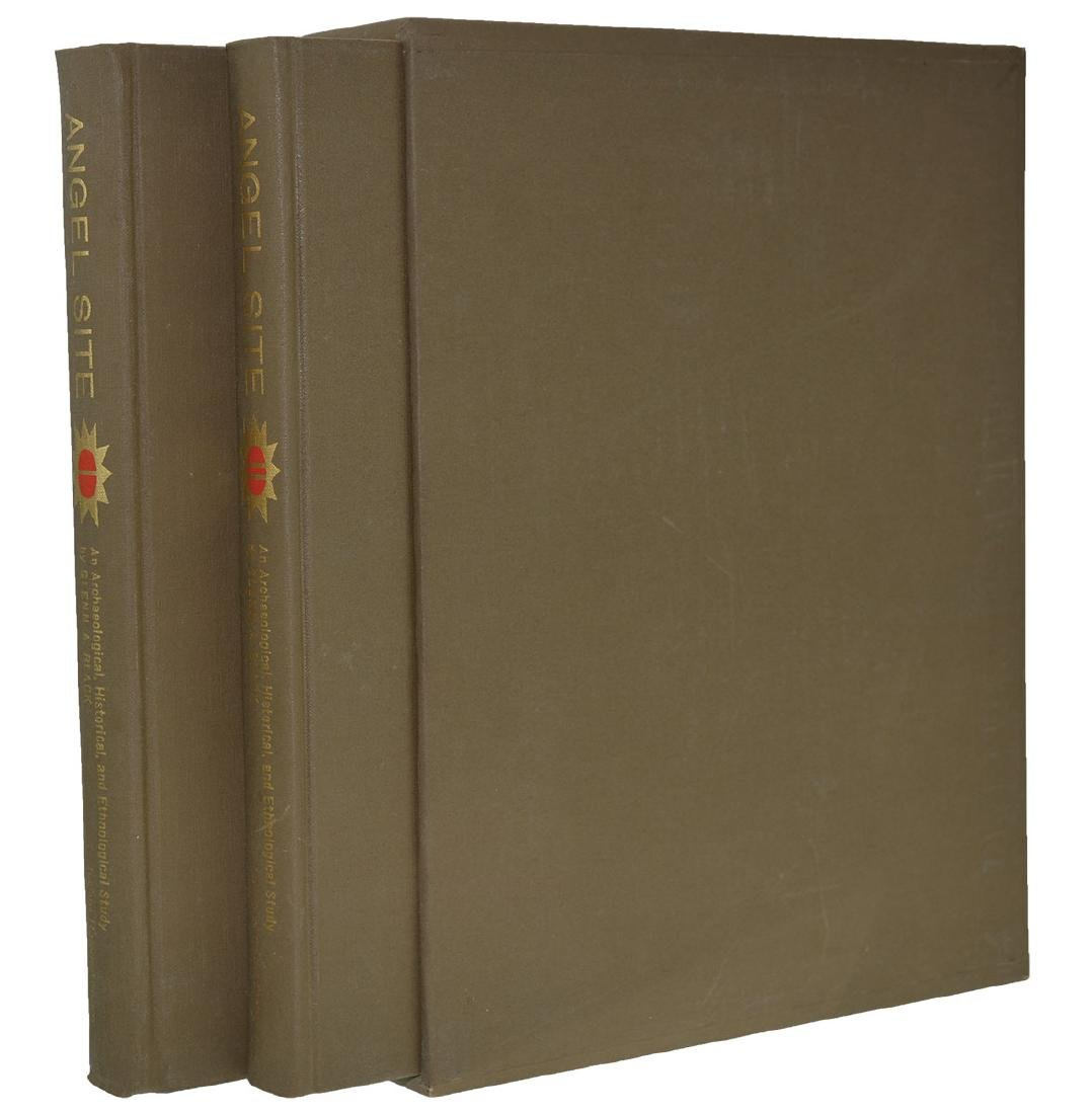 Books:  Two Volume Set of The Angel Mounds (Indiana