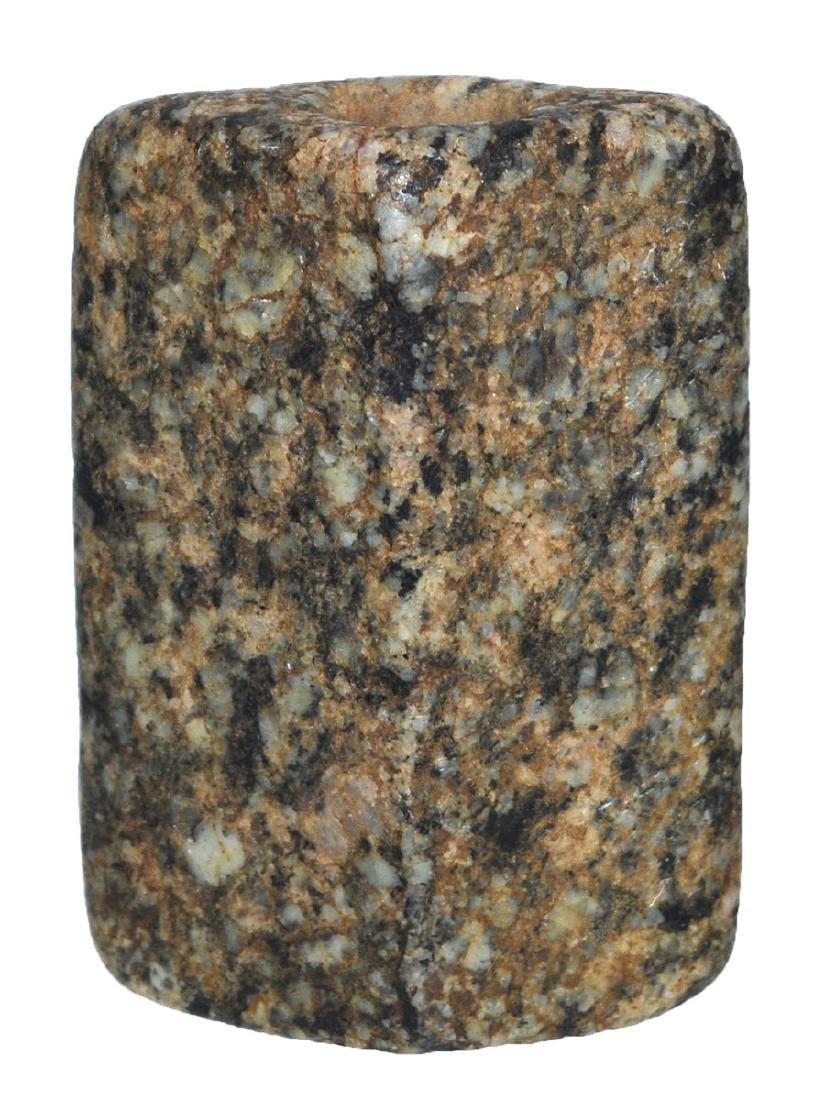 "2 7/16"" Bi-Face Bannerstone.  Granite.  Selling ""as-is"" - 2"