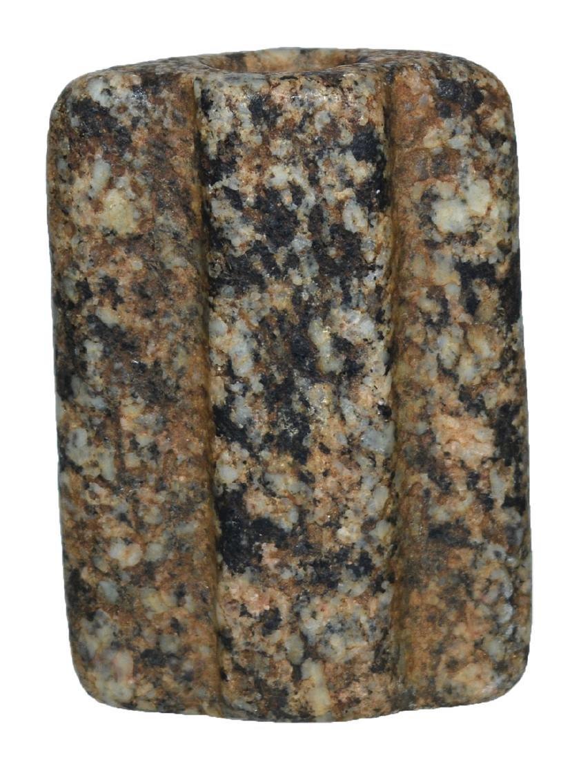 "2 7/16"" Bi-Face Bannerstone.  Granite.  Selling ""as-is"" - 3"