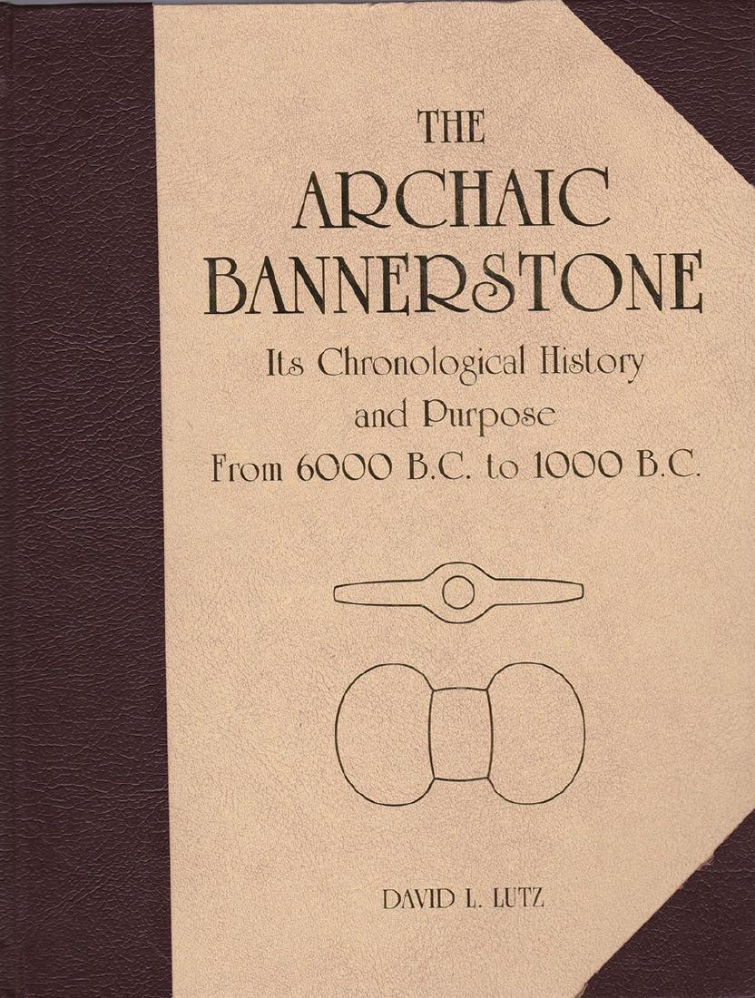 "4 1/2"" Fluted Pick Bannerstone. Ex- Dr. Gordon Meuser. - 5"